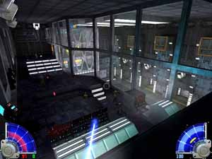 OVERBRIDGE IN THE DEATHSTAR ZONE ALPHA